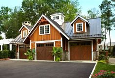 Garage under house designs basement under garage house plans with garage modern house plans medium size . garage under house designs residence modern Plan Garage, Garage House Plans, Barn House Plans, Cottage House Plans, Cottage Homes, Garage Loft, Carriage House Garage Doors, Carriage Doors, Patio Design