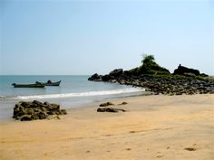 A beautiful beach in Goa -Volunteer with the GoEco Teaching and Orphanage program in Goa. For more information see the project page http://www.goeco.org/project/265/Volunteer_in_India_Teaching_and_Orphanage_work_in_Goa#