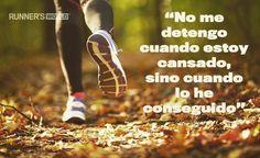 #ActitudGanadora #MentalidadCompetitiva Inconformismo natural y ganas de superarme a diario #run #corre @runners_es