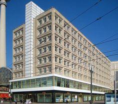 Peter Behrens  File:Berlin, Mitte, Alexanderplatz, Berolinahaus 03.jpg