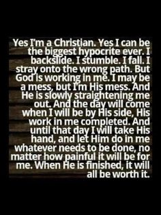 Being Christian -  Love this!