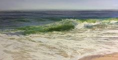 """Jeanne Rosier Smith ~ """"Spin Cycle"""" ~ Pastel 10 x 20"""