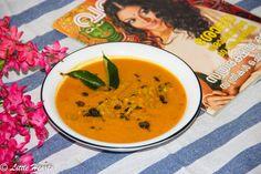 Padavalanga Parippu Curry / Kerala Style Snake Gourd + Lentils Curry