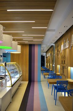 GELATO FREDDO / ice cream shop on Behance