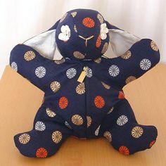 Made of beautiful Japanese Obi fabric