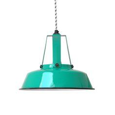 Products details - SALE - Lamp 'Workshop' M jade green