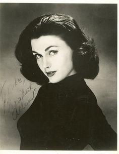 Elizabeth Allen en los 50s.