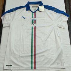 76acdc2a Puma Italy Soccer Jersey Mens Sz XXL New Italia – LoneSole Dangle Earrings,  Silver Earrings