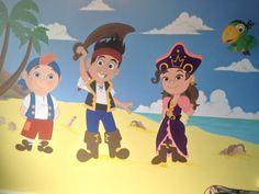 Jake & the Neverland Pirates Wall Mural