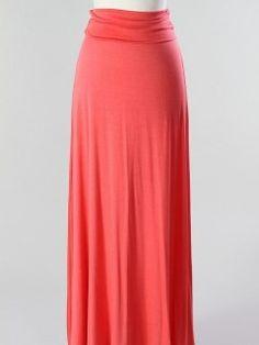 coral maxi skirt | Coral Maxi Skirt ($29)