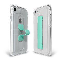 BodyGuardz Apple iPhone 8 Plus SlideVue Case - Clear/Mint Iphone 8 Plus, Iphone 32gb, Apple Iphone, Patent Pending, 6s Plus, Mint, Leather, Gender, Profile