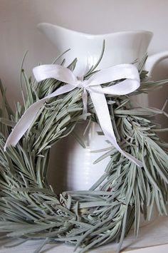 lavender wreath//