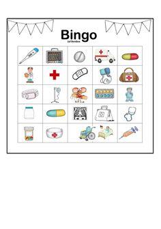 Kindergarten, Community Helpers, Grade 1, Bingo, Preschool Activities, Language Arts, The Doctor, Crafts For Kids, Medical