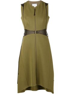 Ralph Rucci Leather Waist Dress - Capitol - Farfetch.com