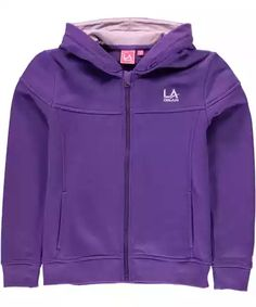 Dívčí mikina LA Gear Full Zip Hoody Junior Girls Portal c0cd7c22cb
