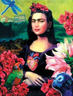 Mona Kahlo Frida Lisa