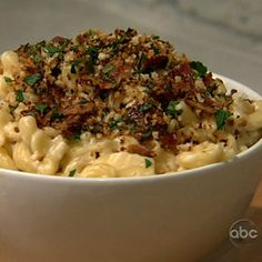the chew | Recipe | Carla Hall And Sam Champion's Mac & Cheese