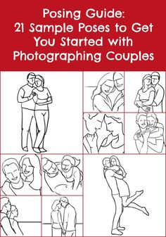 Posing Guide: 21 Sample Poses for Photographing Couples Posing Guide: 21 Sample Poses to Get You Started with Photographing Couples Wedding Photography Styles, Photography Jobs, Couple Photography Poses, Photography Business, Family Photography, Creative Couples Photography, Children Photography, Poses Photo, Picture Poses