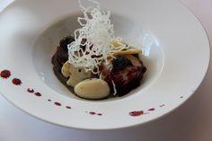 IL PIATTO DELL'ANNO 2014 -  Capesante scottate con crema di tartufo nero, cavolfiori, caviale e succo di rape Le Calandre - Sarmeola di Rubano (PD) - Chef Massimiliano Alajmo