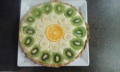 Tarte à la crème pâtissière à la fève tonka et aux fruits sauvages. 👍