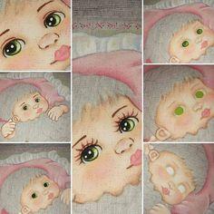 Pap de olhos: Cores: branco, cinza lunar, verde pistache, Verde pinheiro, preto, terra queimada diluída para contornos e cílios