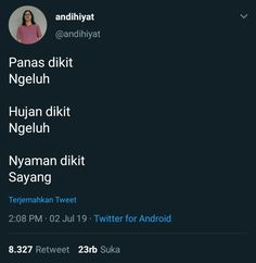 Tweet Quotes, Mood Quotes, Funny Memes, Jokes, Quotes Indonesia, Haha, Caption, Random, Collection