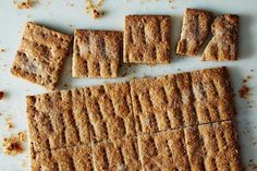 Homemade Graham Cracker Recipe + 5 Ways to Eat Them: https://food52.com/blog/10713-homemade-graham-crackers-5-ways-to-eat-them #Food52