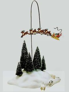 Village Up, Up & Away, Animated Sleigh General Accessories