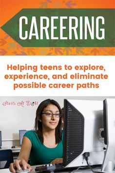 Careering - a pocket-sized guide for teens and young adults to help them explore, experience, and eliminate possible career paths. This is a step by step guide including things like finding good references, resources to help explore different career options, interviewing skills, and more. Career Help, Future Career, High School Curriculum, Different Careers, Interview Skills, Career Exploration, High School Years, Career Options, Leadership Coaching