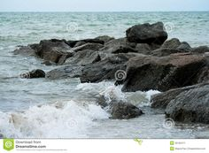Sea Rocks Stock Image - Image: 35162471