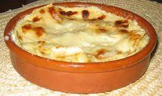 Gratin de raviolis frais à la crème d'ail