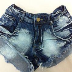 Shorts jeans curtinho