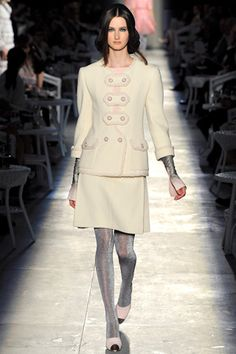 Chanel couture fall 2012  Chanel is always Chanel or Chanel is boring boring?