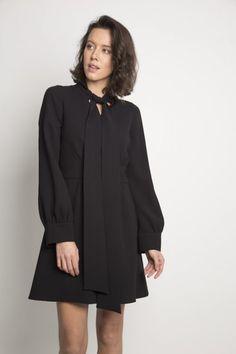Sukienka Kler czarna
