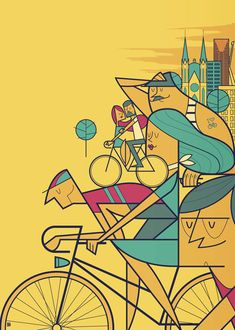 Pedalar 2014 by Ale Giorgini, via Behance