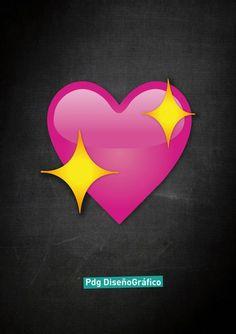 Emoji #corazon Pdg Diseño Gráfico