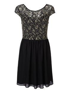 Glitter dress from VERO MODA. We love party dresses! #veromoda #party #fashion #dress