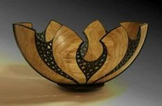 This is a gourd, but would be a nice similar type design done in clay