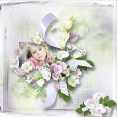 Smell The Flowers Scrapbook Designs, Floral Wreath, Scrapbooking, Wreaths, Flowers, Home Decor, Homemade Home Decor, Flower Crowns, Door Wreaths