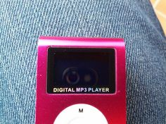 It's much better than those analogue MP3 players.