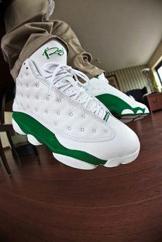 481f5e902635bf Ray Allen 13 s.. Love the green http   www.sneakerstogo.