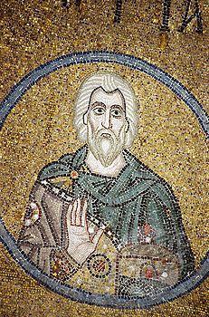 Byzantine mosaic (11th century). St. Sophia cathedral, UNESCO Heritage object, Kiev, Ukraine | Stock Photo #1566-312703