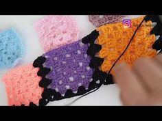 Crochet Motif, Crochet Hats, Joining Crochet Squares, Fingerless Gloves, Arm Warmers, Crochet Projects, Crochet Necklace, Make It Yourself, Knitting Patterns