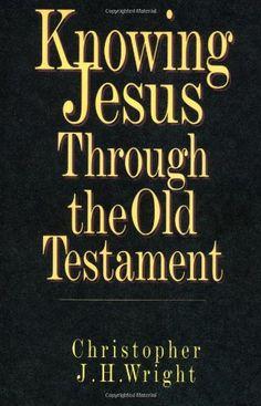 Knowing Jesus Through the Old Testament (Knowing God Through the Old Testament Set) by Christopher J. H. Wright http://www.amazon.com/dp/0830816933/ref=cm_sw_r_pi_dp_8cMfwb0R7HZ8V