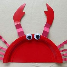 Ocean Art Projects For Kids Sea Theme Learning 53 Ideas Kids Crafts, Crab Crafts, Preschool Crafts, Projects For Kids, Arts And Crafts, Art Projects, Lobster Crafts, Octopus Crafts, Dinosaur Crafts