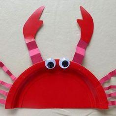 paper-plate-crab-crafts