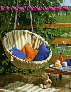 Do-It-Yourself Circular Hanging Chair