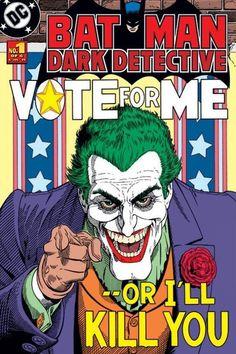 Batman - Joker Vote For Me - Official Poster