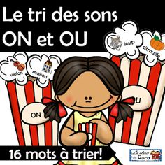 La classe de Caro - Le tri des sons French Teacher, Teaching French, Teacher Helper, Core French, French Classroom, Early Reading, French Immersion, French Lessons, France