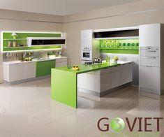 Bộ sưu tập các mẫu tủ bếp đẹp và hiện đại
